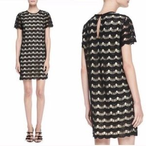 Kate Spade Virginia short sleeve lace dress